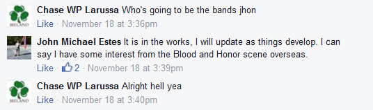 discussion of bands for show
