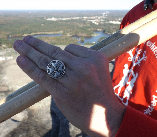 klan ring on display nov 14 2015 stone mountain event
