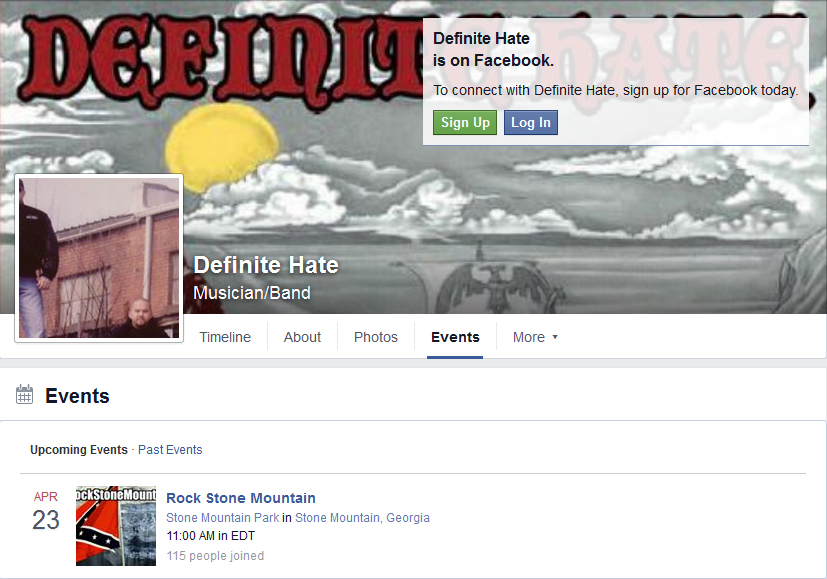 google cache of definite hate FB deleted rock stone mountain upcoming dl 2 15 2016