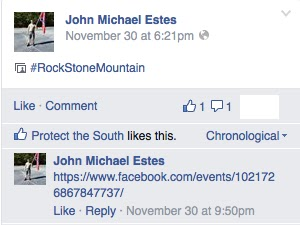 Protect The South Likes Rock Stone Mountain