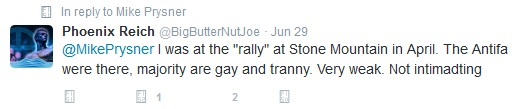 BigButternutJoe 2016 post about April Stone Mountain