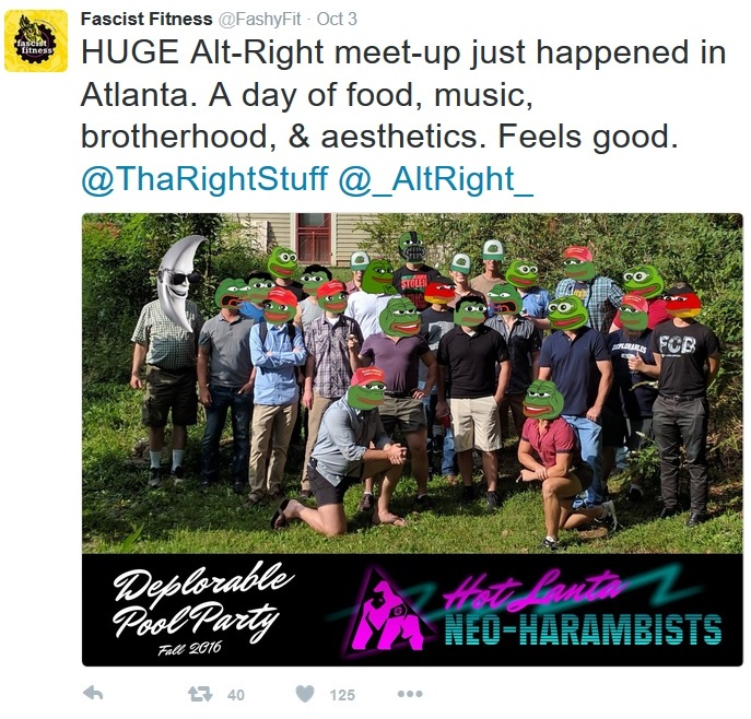 FashyFit ATL altright Oct 2016