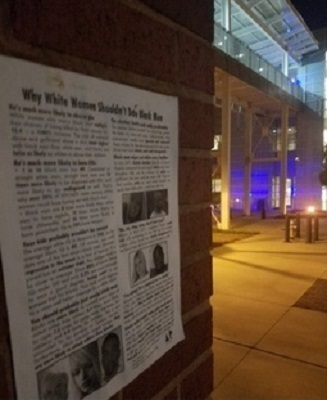 GA tech Nov racist poster